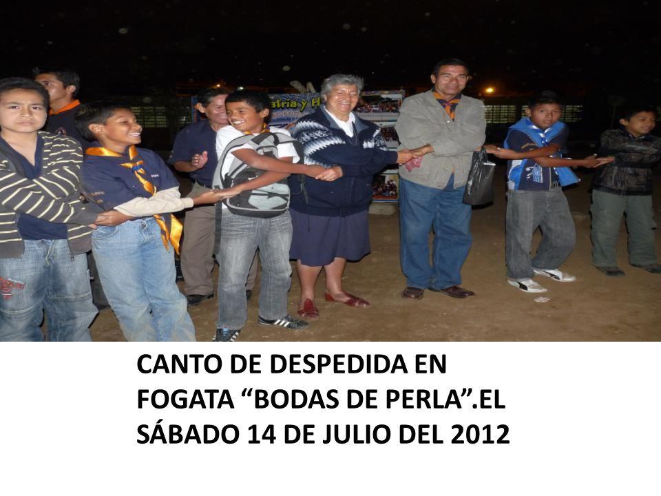 CANTO DE DESPEDIDA EN FOGATA BODAS DE PERLA.EL SÁBADO 14 DE JULIO DEL 2012