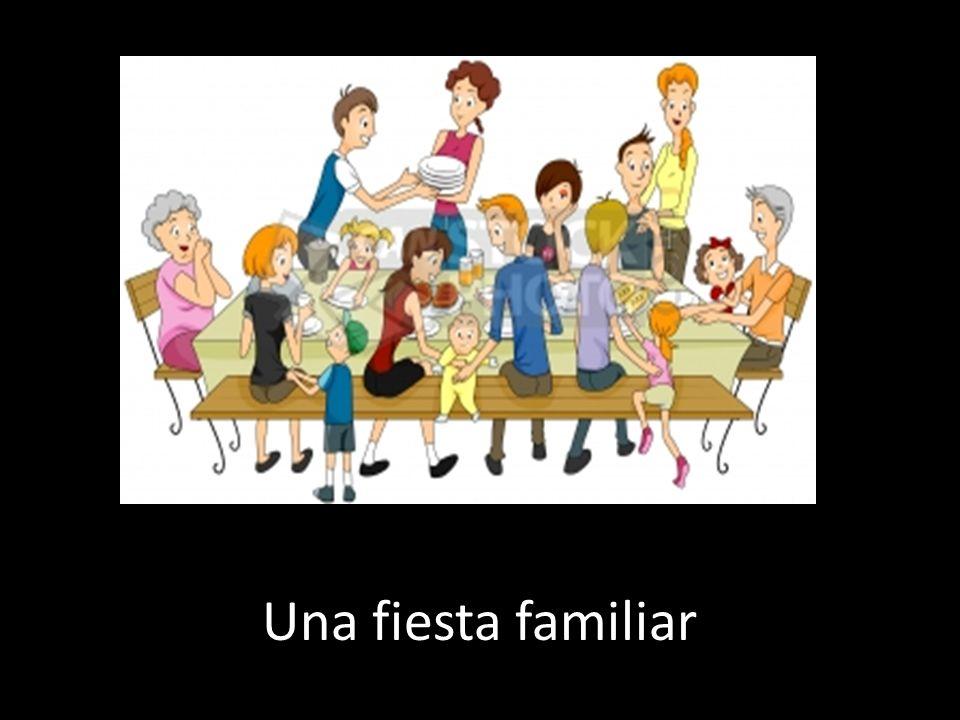 Una fiesta familiar