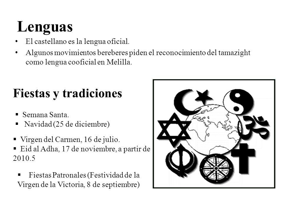 Cultura Conviven cuatro culturas (religiones):cristiana, musulmana, judía e Hindú, aunque la cultura predominante políticamente hablando.