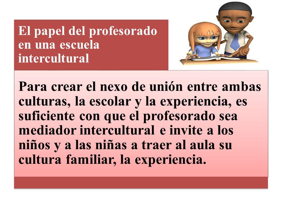 Contexto educativo: J. A. Jordán (1994) afirma que el profesorado es el factor clave de toda la educación escolar y, por supuesto, esto incluye ser el