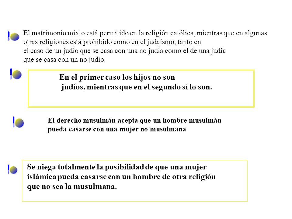 Dan Rodríguez (2004b: 51) Matrimonios entre personas de distinto país: matrimonios mixtos Según El País, bi-nacionales o inter-nacionales. Según datos