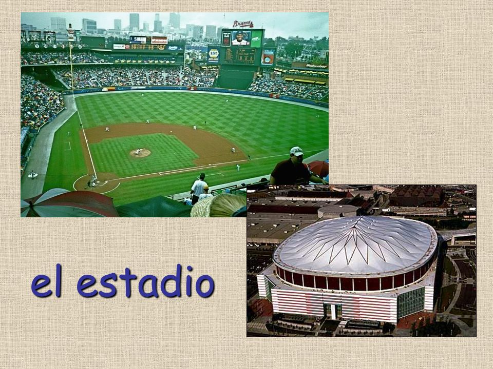 el estadio