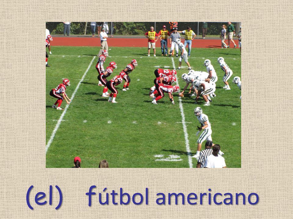 (el) f útbol americano