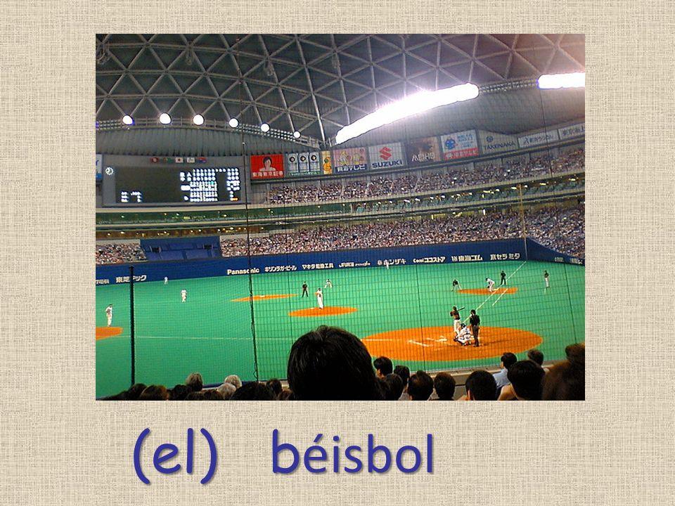 (el) b éisbol