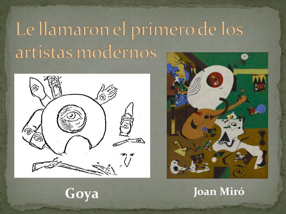 Goya Joan Miró