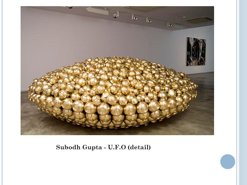 Subodh Gupta - U.F.O (detail)