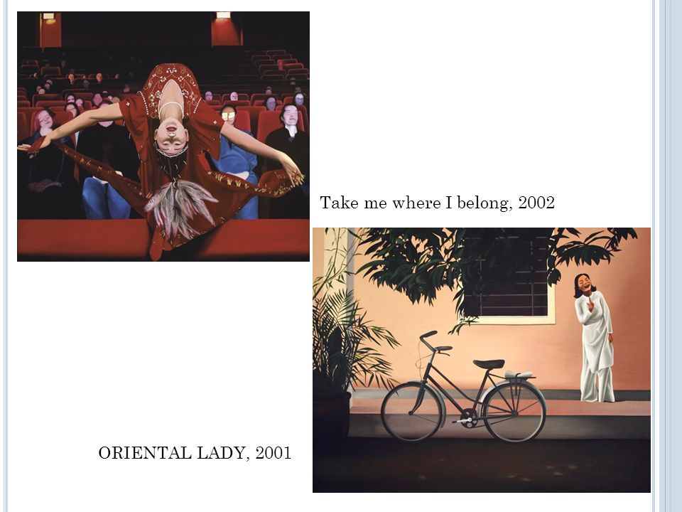 Take me where I belong, 2002 ORIENTAL LADY, 2001
