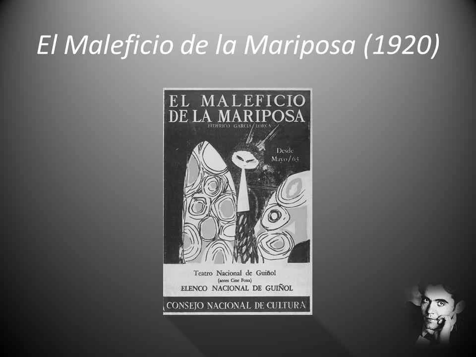 Other Works/Otras Obras Libro de Poemas (1921) Romancero Gitano (1928) Bodas de Sangre (1933) Yerma (1934)