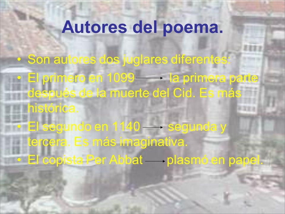 Autores del poema.