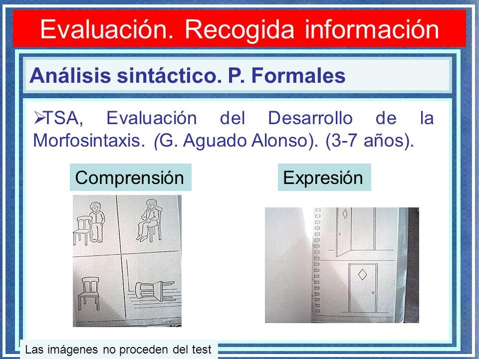 Evaluación.Recogida información Análisis sintáctico.