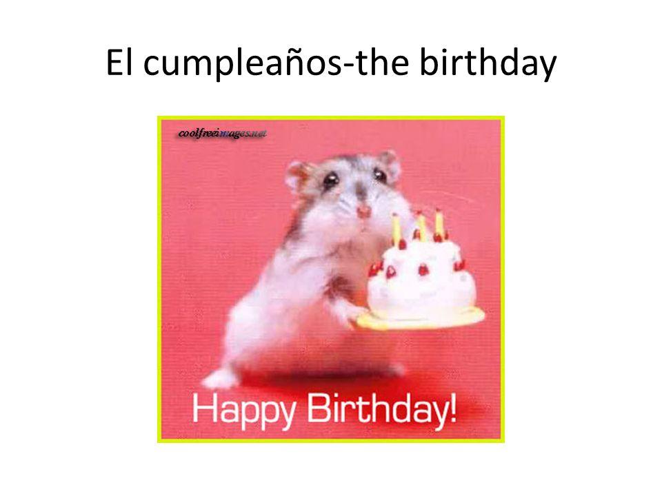 El cumpleaños-the birthday