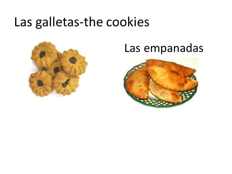 Las galletas-the cookies Las empanadas
