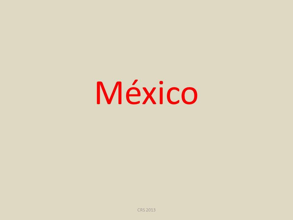 México CRS 2013