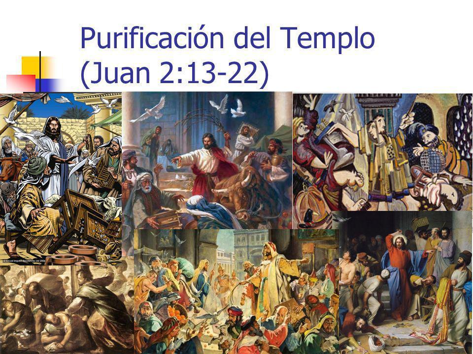 29 Purificación del Templo (Juan 2:13-22)