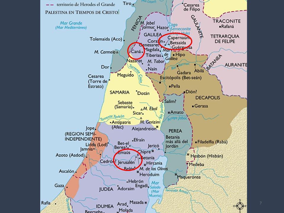 descendieron a Capernaum (v.12) No es, pues, de extrañar que el Señor hiciera una visita a este lugar antes de proseguir su viaje hacia Jerusalén.