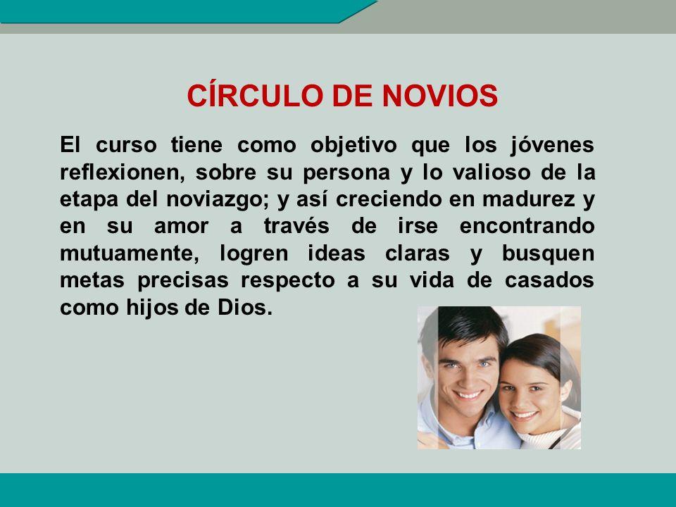 SERVICIOS INSTITUCIONALES Círculo de Novios (CN). Curso de Preparación Inmediata al Matrimonio (CPIM). Diplomado en Prematrimonial (DP) Madres Respons