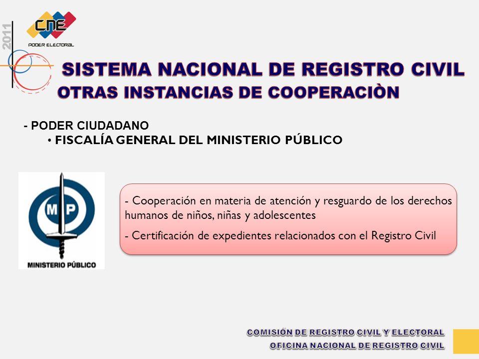 - Cooperación en materia de atención y resguardo de los derechos humanos de niños, niñas y adolescentes - Certificación de expedientes relacionados co