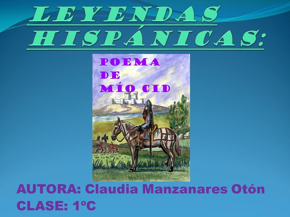 AUTORA: Claudia Manzanares Otón CLASE: 1ºC
