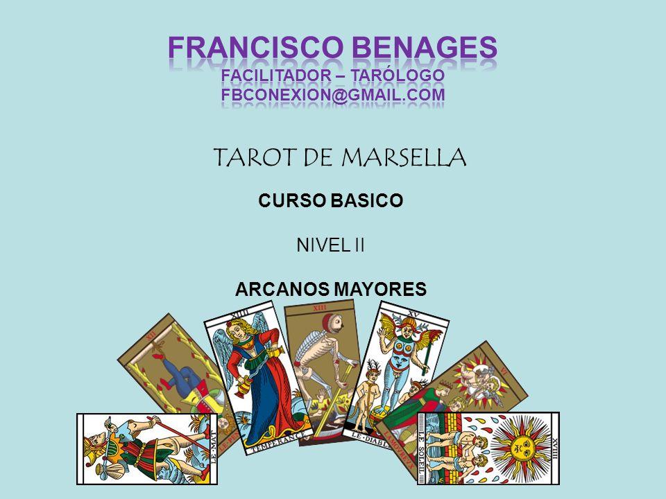 TAROT DE MARSELLA CURSO BASICO NIVEL II ARCANOS MAYORES