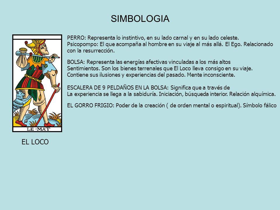 SIMBOLOGIA PERRO: Representa lo instintivo, en su lado carnal y en su lado celeste. Psicopompo: El que acompaña al hombre en su viaje al más allá. El