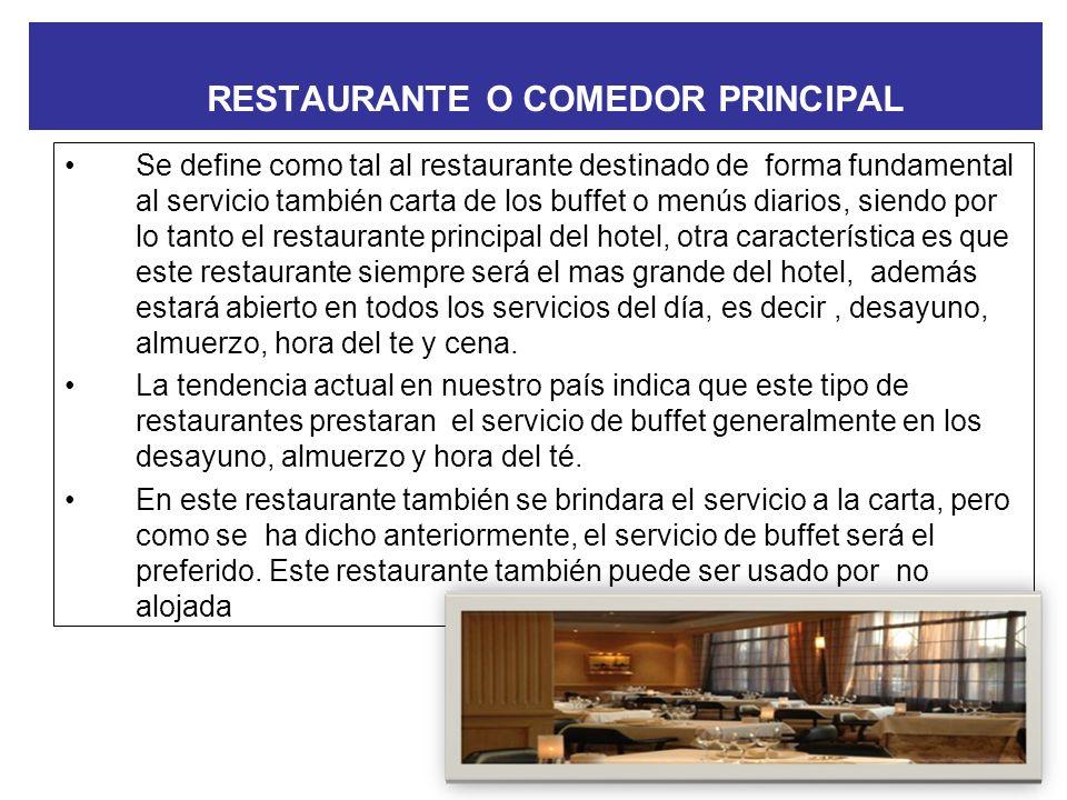CLASIFICACIÓN DE LOS RESTAURANTES Restaurante Temático Restaurantes con la modalidad de Delivery Restaurantes drive inn Restaurantes drive thru