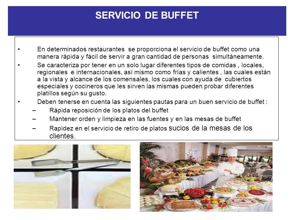SERVICIO DE BANQUETES Como consecuencia de la demanda existente por el servicio de banquetes y eventos, son muchos los establecimientos hoteleros, que