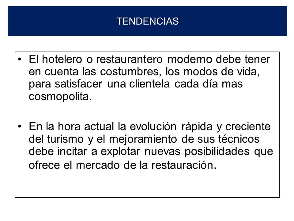 INSTRUMENTOS PARA LA COMERCIALIZACIÓN DE ALIMENTOS Los instrumentos para la comercialización de alimentos y bebidas son: La Carta y El Menú. Los estab