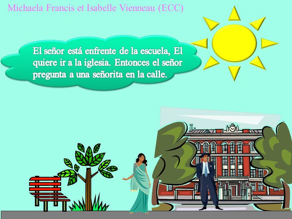 Michaela Francis et Isabelle Vienneau (ECC)