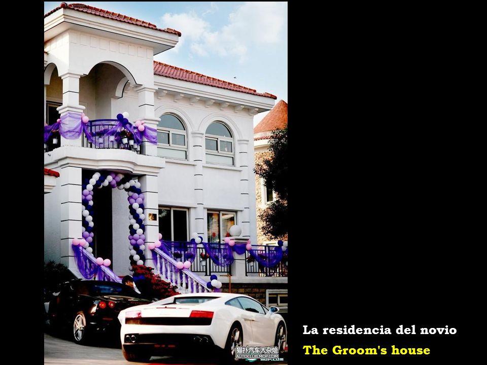 The wedding hall El salón de la recepción