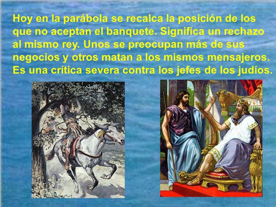Hay que saber valorar los aspectos positivos, que son anuncio de la gran fiesta eterna. Debemos ser mensajeros de la alegría eterna de Dios.