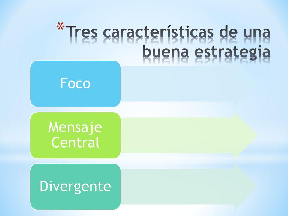 Foco Mensaje Central Divergente
