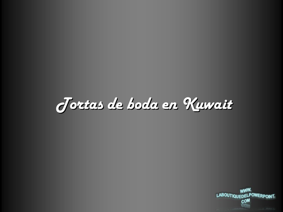 ¡Esta es la primicia de Kuwait en bodas.