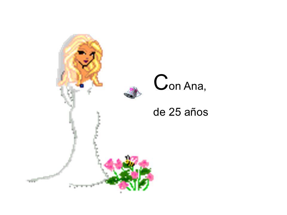 Debido a que su marido es tan viejo, Ana decide que después de su boda ella y don Juan deben tener dormitorios separados