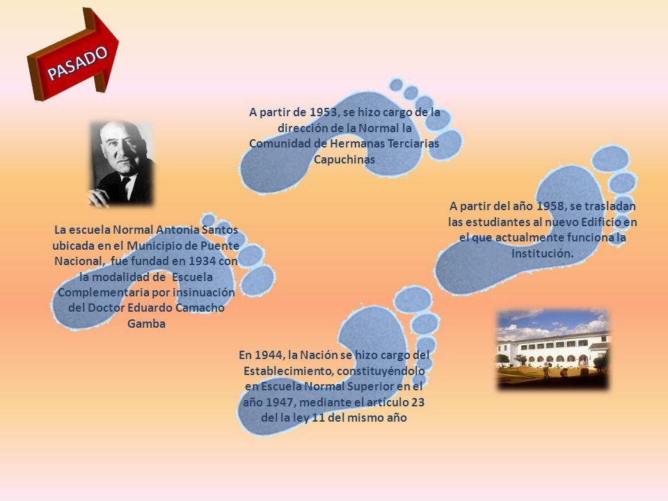 La escuela Normal Antonia Santos ubicada en el Municipio de Puente Nacional, fue fundad en 1934 con la modalidad de Escuela Complementaria por insinua