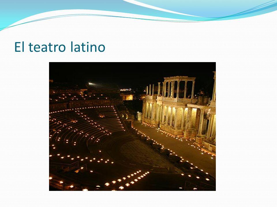 El teatro latino