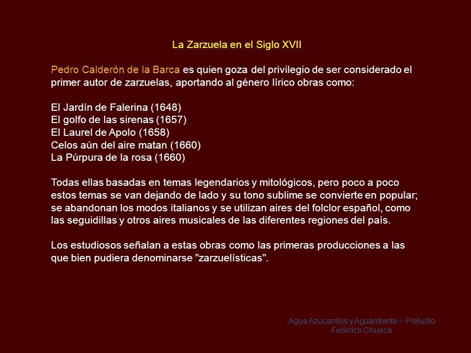Origen del Nombre Su nombre deriva del Palacio de la Zarzuela situado en el Real Sitio de El Pardo. El nombre dado al palacio, parece ser que se origi