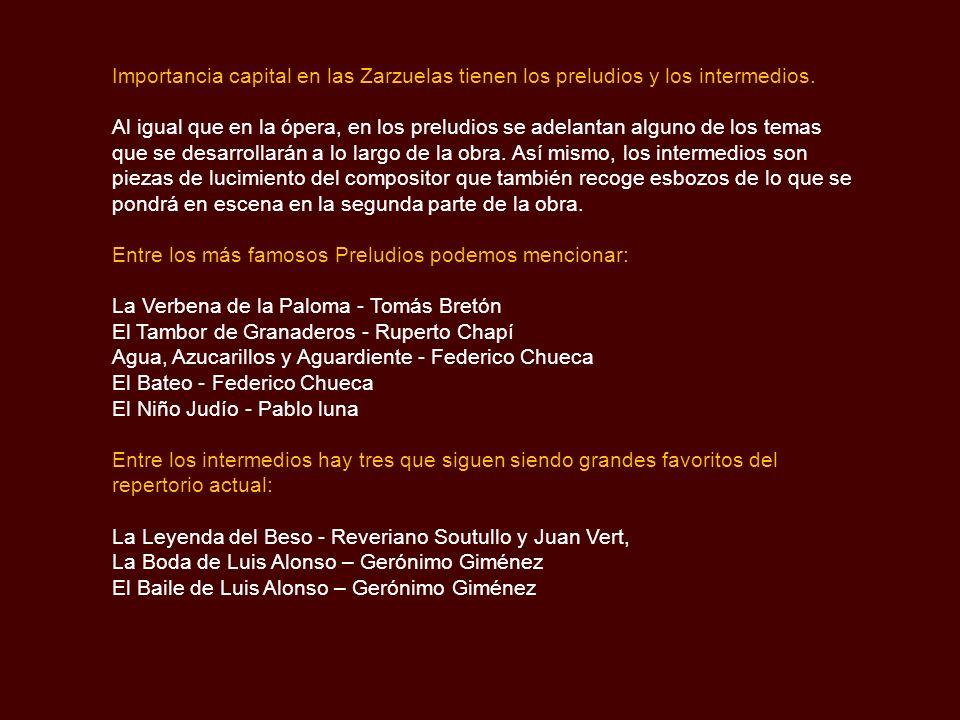 La Zarzuela La Zarzuela es el género lírico español por excelencia, en ella se encuentra plasmada la idiosincrasia del pueblo español y algunas de las