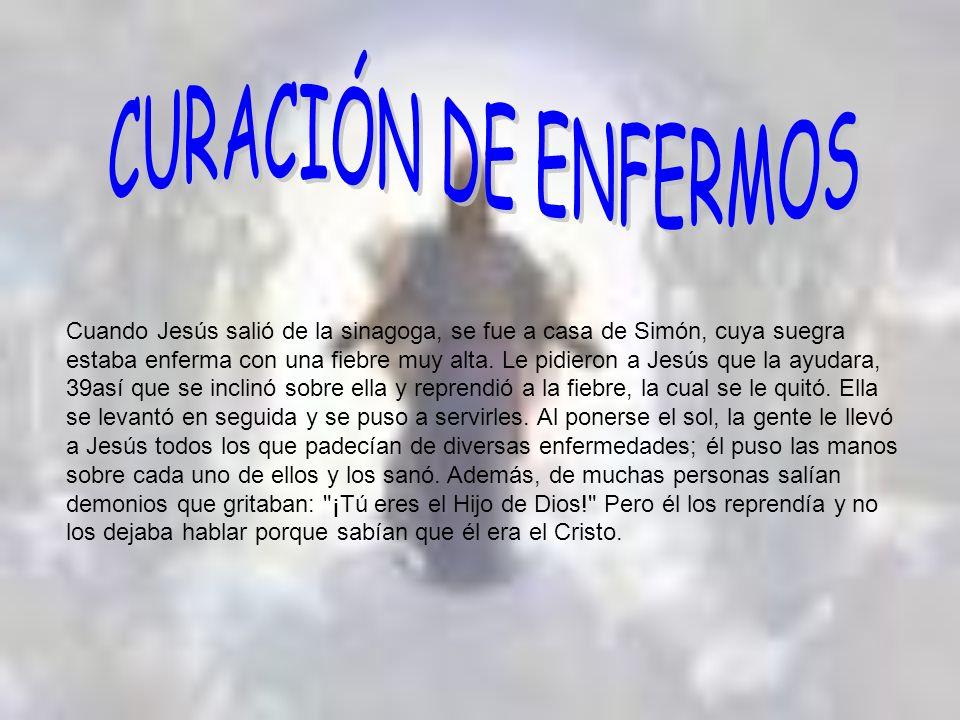 En otra ocasión, cuando Jesús estaba en un pueblo, se presentó un hombre cubierto de lepra.