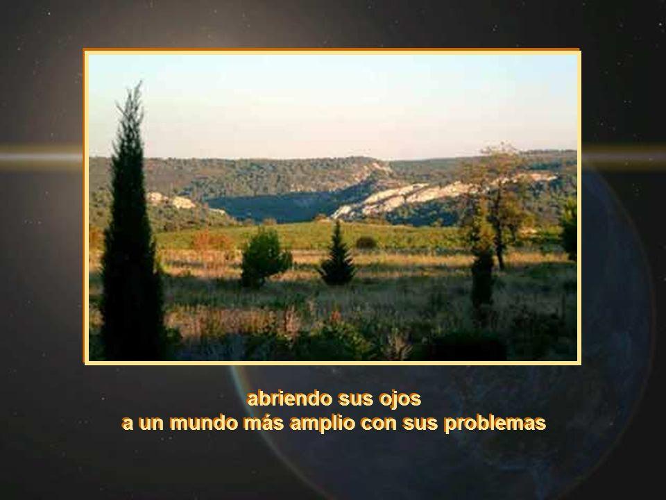 abriendo sus ojos a un mundo más amplio con sus problemas abriendo sus ojos a un mundo más amplio con sus problemas