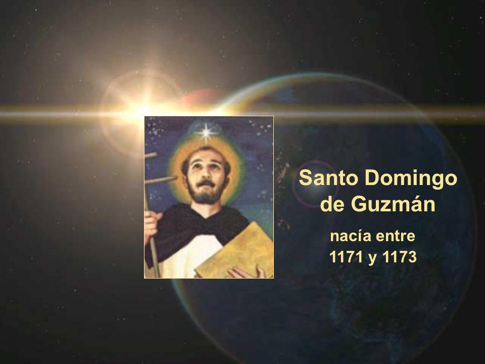 Santo Domingo de Guzmán nacía entre 1171 y 1173