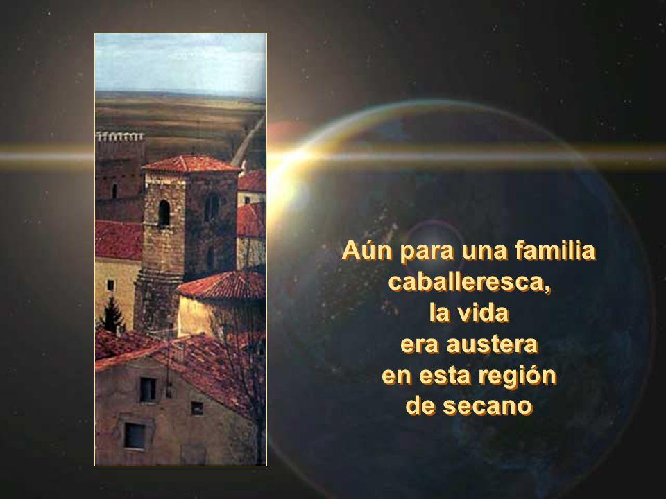 El padre de Domingo, Felix, como señor feudal poseía unas tierras, numerosas ovejas, y la casa señorial y torreón que servía para defender las posesiones.