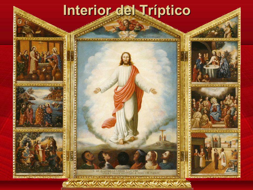 El Evangelio de Aparecida Este Tríptico fue presentado por Su Santidad Benedicto XVI a los participantes de Aparicida, en Mayo 2007 Este Tríptico fue