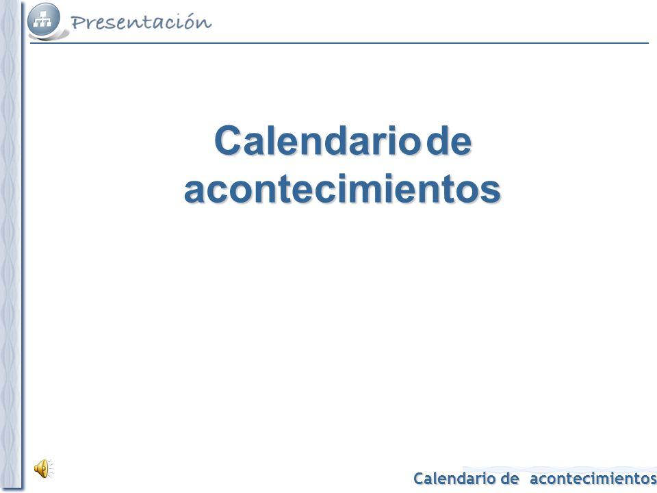 Calendario de acontecimientos 1780 Publicación de la 1ª edición del Diccionario de la lengua española.