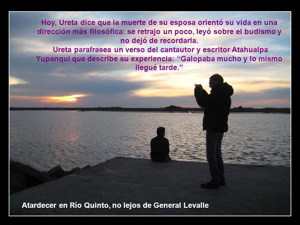 Mi padre era muy joven, y estaba ocupado con su trabajo y sus propios planes –dice su hijo menor, Ezequiel, de 36 años–.