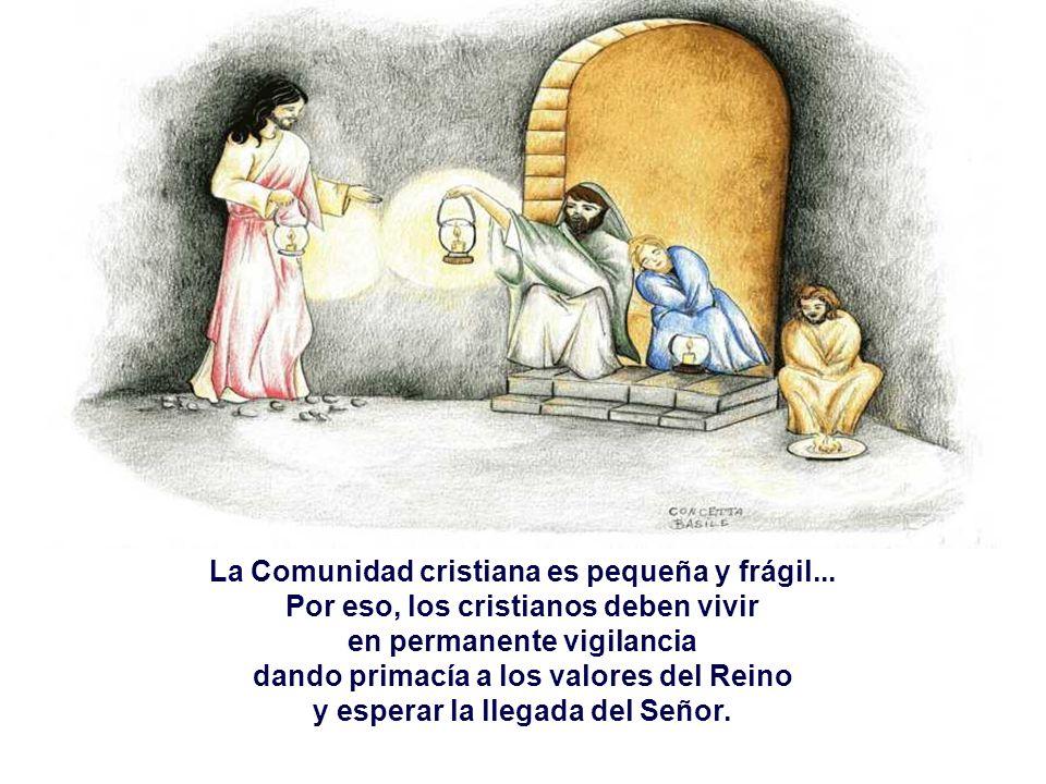 - Pone como ejemplo de la verdad 3 PARÁBOLAS:. Los Siervos que esperan que el Señor vuelva de la boda.. El Ladrón que llega por sorpresa.. El Administ
