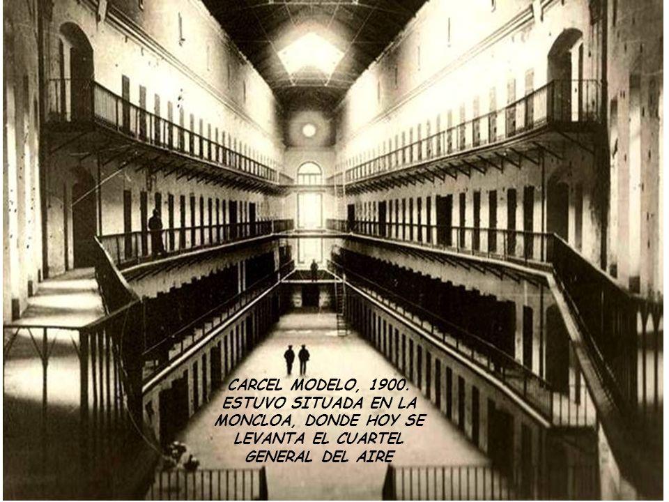 CARCEL MODELO, 1900. ESTUVO SITUADA EN LA MONCLOA, DONDE HOY SE LEVANTA EL CUARTEL GENERAL DEL AIRE