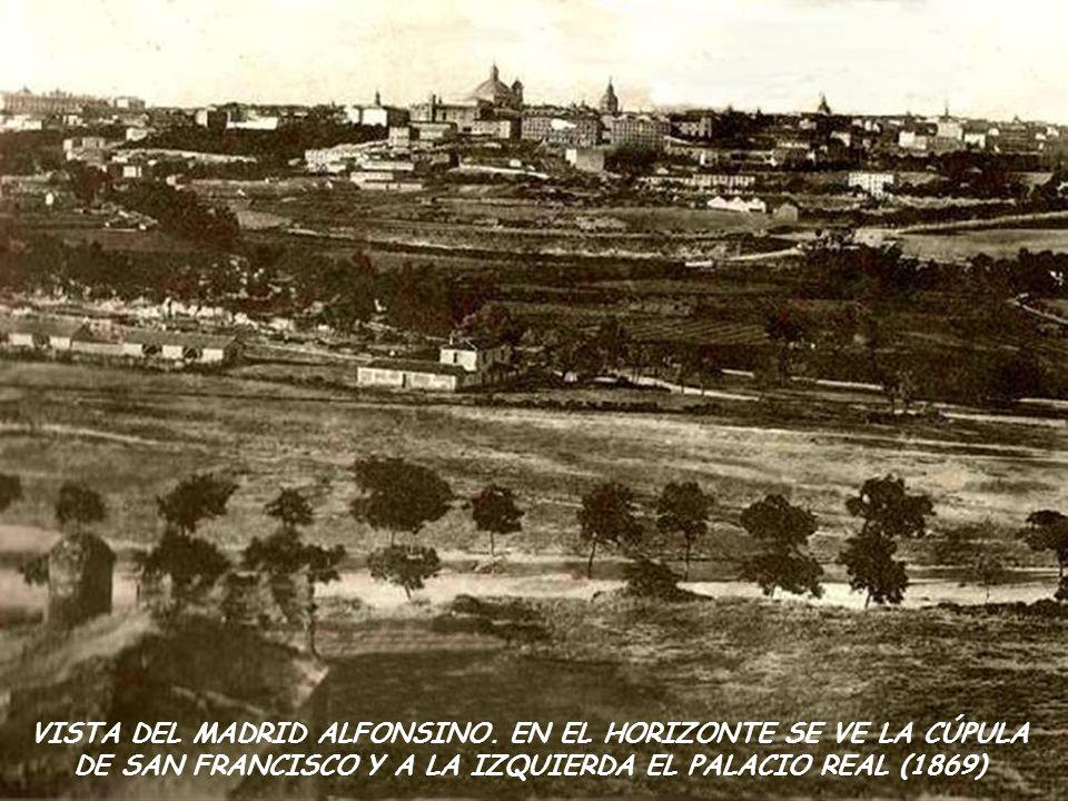 MONUMENTO A LAS VICTIMAS DEL ATENTADO CONTRA LOS REYES DE ESPAÑA, 1910.