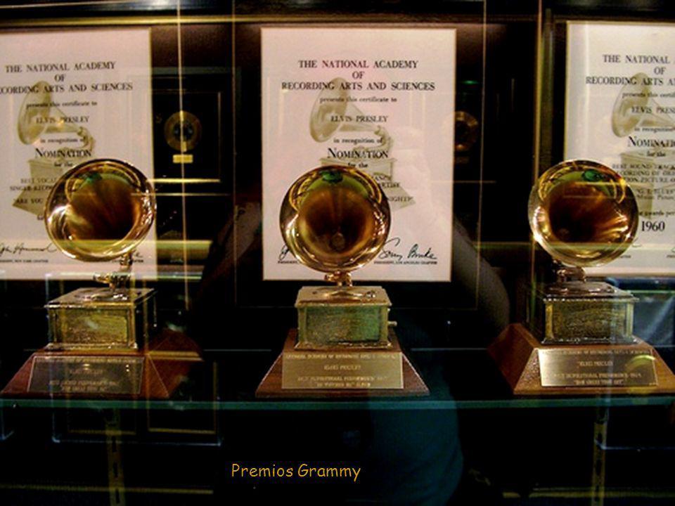 Sala de los premios de Platino y Oro