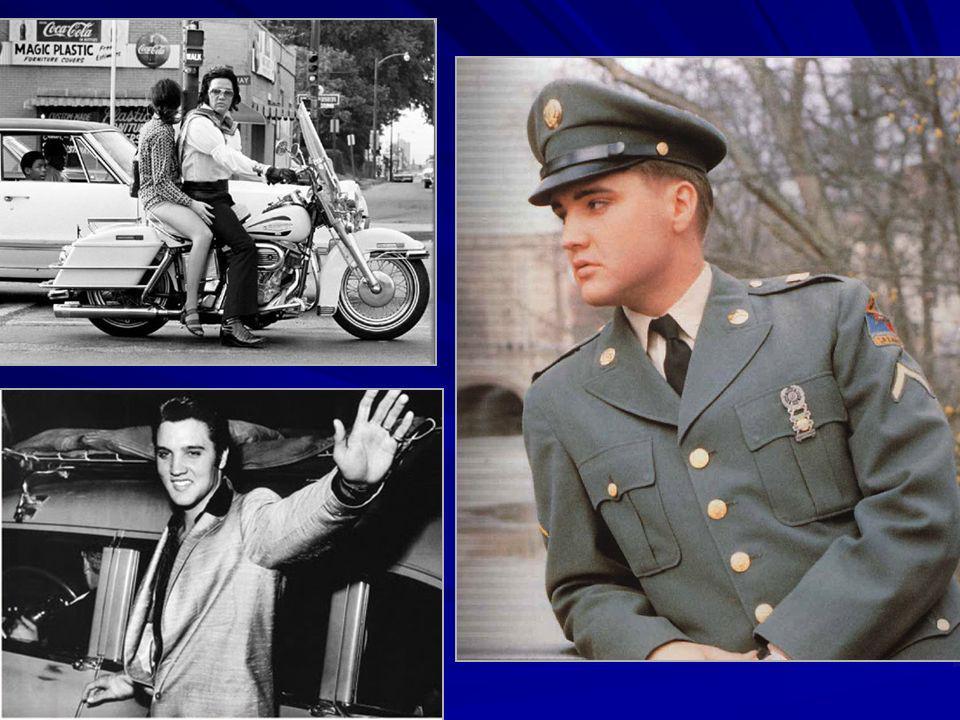 Vernon y Gladys Presley Elvis de niño