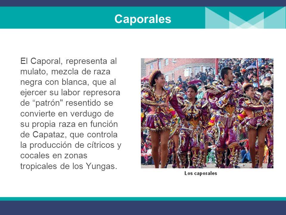Saya afroboliviana Esta danza al igual que la gente afro llegó a Bolivia durante la época colonial para trabajar extrayendo la plata del cerro rico de